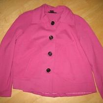 Grace Elements Lined  Pleat Back Swing Jacket -Size 14- Vguc Photo