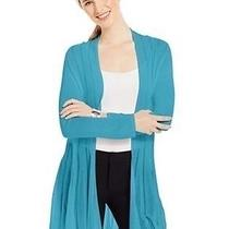 Grace Elements New 70 Long Sleeves Open-Front Illusion Capri Cardigan Xs  Photo