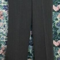 Grace Elements New Castle Gray Stretch Dress Pants Buckle Accent Size 6 Nwt Photo