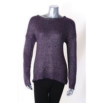 Grace Elements New Purple Acrylic Blend Long Sleeve Sweater Size Xl 70.00 Lafo Photo