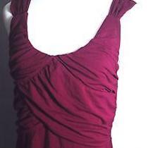 Grace Elements Purple Jersey Top Size Large Photo