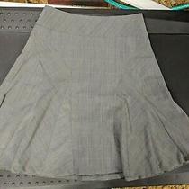 Grace Elements Skirt Plaid Gray Size 10 Photo