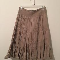 Grace Elements Skirt Tan/brown Small  Photo