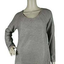 Grace Elements Sweater Brown Suede Heather Size S Small New Photo