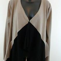 Grace Elements Woman Open Cardigan Sweater Sz Medium New With Tags Photo