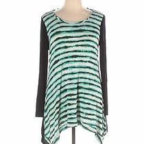 Grace Elements Women Green Long Sleeve Top Xl Photo