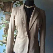 Grace Elements Women's Beige Suit Jacket Blazer Size 8 New Photo