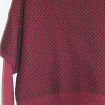 Grace Elements Women's Sweater (L) Multi-Color Crewneck Cotton Acrylic Photo