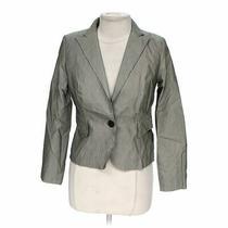 Grace Elements Women's Trendy Blazer Size 8  Grey  Cotton Polyester Spandex Photo