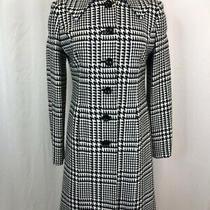 Grace Elements Women Size 4 Black & White Coat Photo