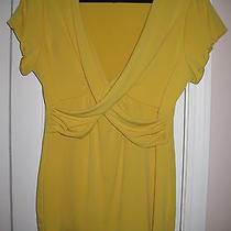 Grace Elements Yellow Medium Slinky Knit Stretchy Like New Make an Offer Ross Photo
