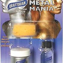 Graftobian Metal Mania - Cosmetic Powered Metals - Silver Photo