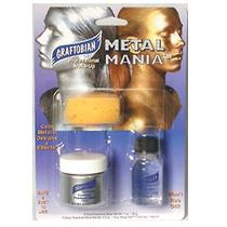 Graftobian Metal Mania - Cosmetic Powered Metals - Silver Silver One-Size Photo