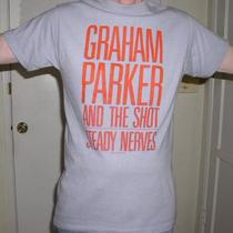 Graham Parker T Shirt 1985 Rare Photo