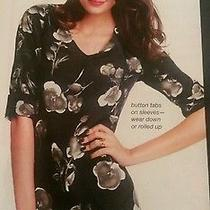 Graphic Floral Tunic Photo
