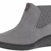 Grasshoppers Women's Porter Boot Suede Mule Grey Size 6.5 1por Photo