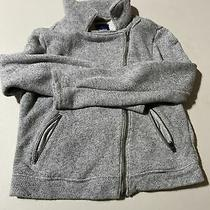 Gray Gap Kids Zip Up Jacket Size 10 L Photo