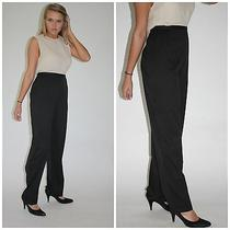 Gray Giorgio Armani Le Collezioni Pants Slacks Smooth Classic Sleek Size 14 L Xl Photo