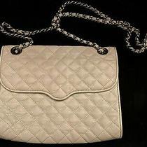 Gray Rebecca Minkoff Silver Chain Strap Bag Purse Photo