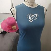 Gray Roxy Girl's 12/l Sleeveledd Guard Top Shirt  Photo