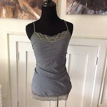 Gray With Lace Tank by Express Size S Photo