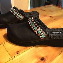 Grazie Christie (Black) Women's Embellished Clog/mule Shoes  Size 9  Nwob Photo