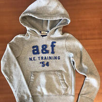 Great Conditionabercrombie & Fitch Hoodie Sweatshirt Gray Blue (L) Photo