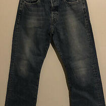 Great Mens Vtg Abercrombie & Fitch 1892 Boot Button Fly Blue Jeans 32x32 Photo