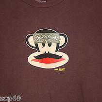 Great Paul Frank  Julius Monkey Mustache Bandana Tshirt  Biker Skull Photo