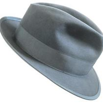 Great Whippet Style Size 7 1/4 Vintage '50s Campbell Classic Fedora Felt Hat Photo