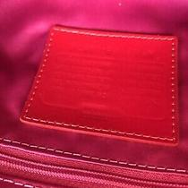 Great Women Red Patent Leather New Coach Shoulder Handle Crossbody Handbag Purse Photo