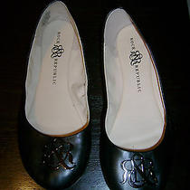 Great Women's rock&republic Black Ballet Flats Size 10 Photo
