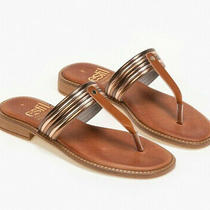 Greek Handmade Sandals Leather Strappy Ancient Style Flip Flops Women Shoe Thong Photo
