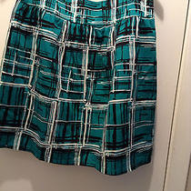 Green and Black Limited Skirt  Photo