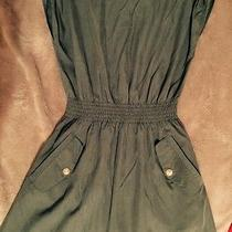 Green and Gold Guess Dress Photo