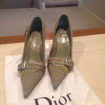 Green Authentic Dior Heels Photo