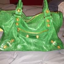 Green Balenciaga Handbag  Photo