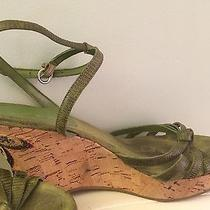 Green Bandolino Wedge Sandals Photo