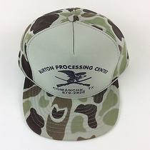 Green Camo Burton Processing Comanche Tx Hat Cap Foam Mesh Trucker Snapback Photo