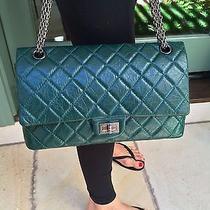 Green Chanel 2.55  Handbag  Photo