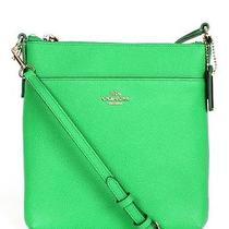 Green Coach Crossbody Handbag/ New Photo