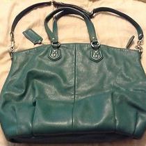 Green Coach Handbag Photo