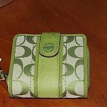 Green Coach Wallet Photo