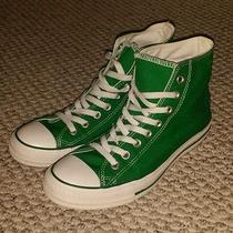 Green Converse All Star Photo