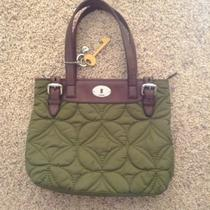 Green Fossil Keyper Quilted Purse - Nwot Photo
