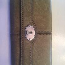 Green Fossil Wallet  Photo