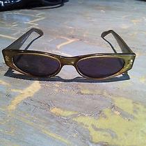 Green Gucci Sunglasses Photo