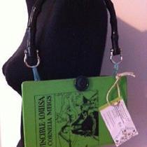 Green Invincible Louisa by Cornelia Meigs Book Purse Handbag One of a Kind  Photo