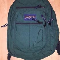 Green Jansport Backpack Photo