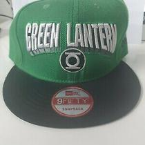 Green Lantern Hat Cap - Snapback - Suit Youth Adult - Free Express Photo